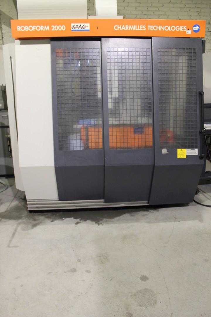 Elektrodrążarka CNC CHARMILLES TECHNOLOGIES ROBOFORM 2000