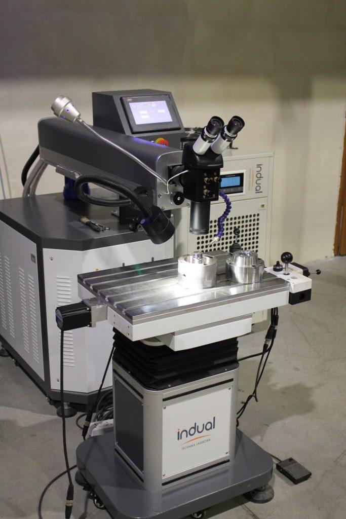 Precyzyjna spawarka laserowa