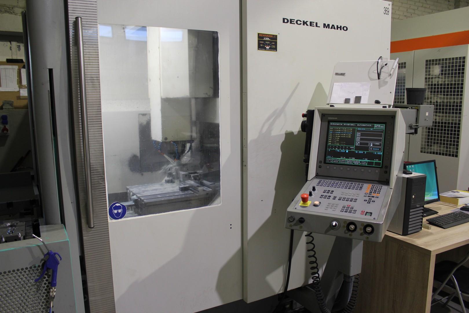 3 osiowa frezarka CNC DECKEL MAHO 70 V hi-dyn
